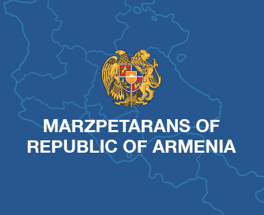 Marzpetarans of Republic of Armenia